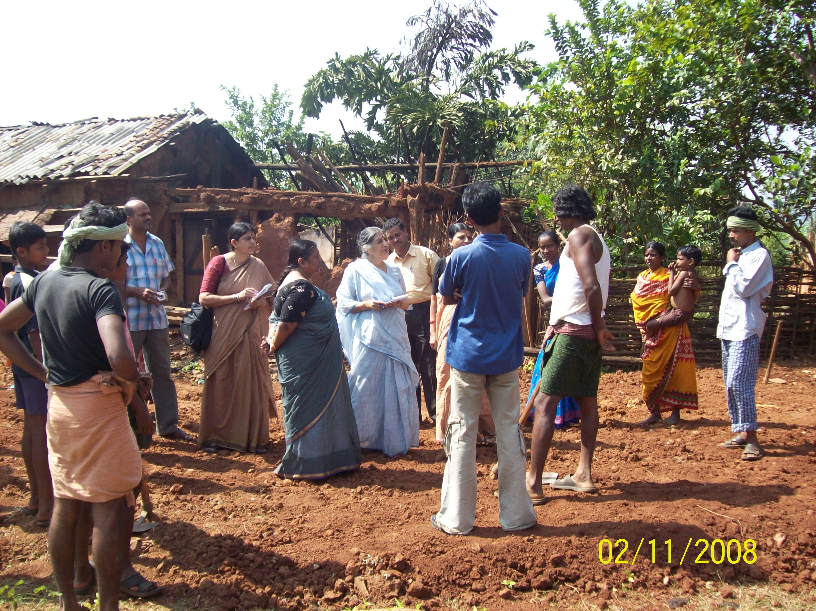 A Report of an AIDWA delegation to Kandhamal December 2008