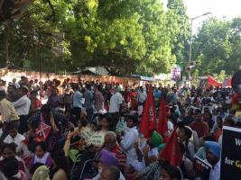 One Month After the Assassination of Gouri Lankesh, March for Democracy