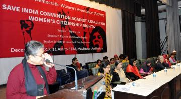 Save India Convention Against Assault on Women's Citizenship Rights
