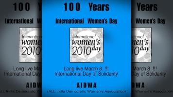 100 Years International Women's Day 2010