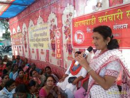 AIDWA CEC Calls For Mass Movement For Food Security And Employment, Against Communalism And Violence